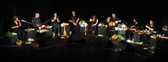 Sebzelerle müzik